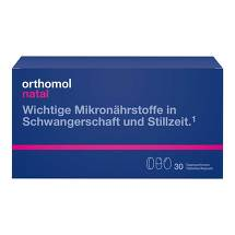 Orthomol Natal Tabletten / Kapseln Kombipackung