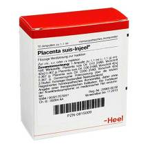 Produktbild Placenta Suis Injeel Ampullen