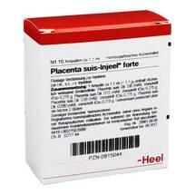 Produktbild Placenta Suis Injeel forte Ampullen