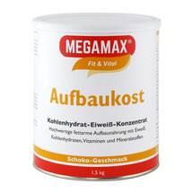 Produktbild Megamax Aufbaukost Schoko Pulver