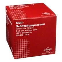 Produktbild Schlitzkompressen Mull 5x5cm