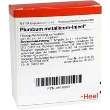 Produktbild Plumbum metallicum Injeel Ampullen