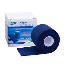 Höga Lastic Haft Binde 6cmx5m blau