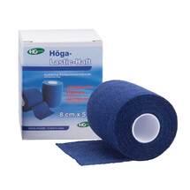 Produktbild Höga Lastic Haft Binde 8cmx5m blau
