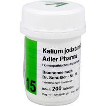 Produktbild Biochemie Adler 15 Kalium jo
