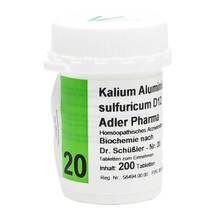 Biochemie Adler 20 Kalium aluminium sulfuricum D12 Tabletten