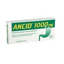 Produktbild Ancid 1000 mg Kautabletten