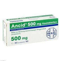 Produktbild Ancid 500 mg Kautabletten