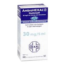 Produktbild Ambrohexal S Hustensaft 30 mg/5 ml
