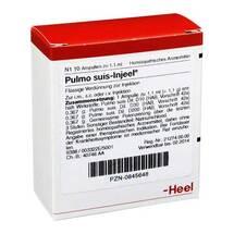 Produktbild Pulmo Suis Injeel Ampullen