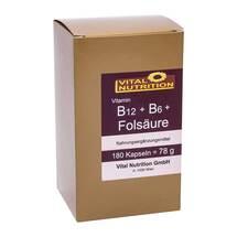 Produktbild B12 + B6 + Folsäure Kapseln