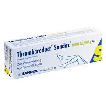 Produktbild Thrombareduct Sandoz 30.000 I.E. Gel