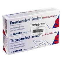 Produktbild Thrombareduct Sandoz 60.000 I.E. Salbe