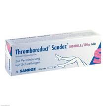 Produktbild Thrombareduct Sandoz 100.000 I.E. Salbe
