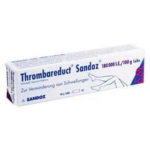 Produktbild Thrombareduct Sandoz 180.000 I.E. Salbe