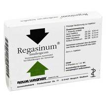 Produktbild Regasinum Antallergicum Ampullen