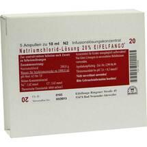 Produktbild Natriumchlorid 20% Eifelfango Infusionslösung -Konzentrat