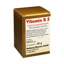 Produktbild Vitamin B5 Kapseln