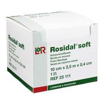 Produktbild Rosidal Soft Binde 10x0,4cmx