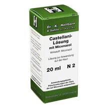 Produktbild Castellani mit Miconazol Lösung