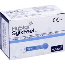 Produktbild Mystar Sylkfeel Lanzetten 28 G