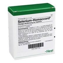 Produktbild Selenium Homaccord Ampullen
