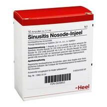 Produktbild Sinusitis Nosode Injeel Ampullen