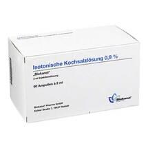 Produktbild Isotonische Kochsalzlösung 0,9% Biokanol Ampullen