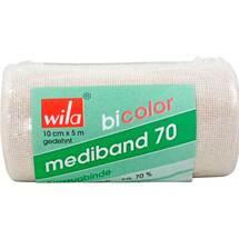Mediband 70 Kurzzugbinde bicol.10 cm x 5 m ws. / haut