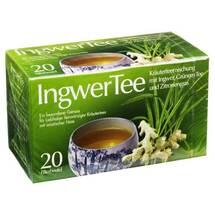 Produktbild Ingwer Tee Filterbeutel