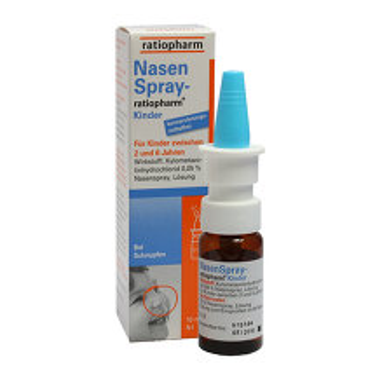 Produktbild Nasenspray ratiopharm Kinder