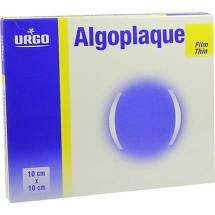 Algoplaque Film 10x10cm dünner Hydrokolloidverband