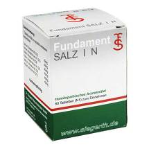Produktbild Fundament Salz I N Tabletten