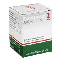 Produktbild Fundament Salz III N Tabletten