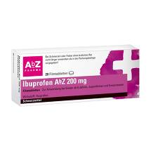 Produktbild Ibuprofen AbZ 200 mg Filmtabletten