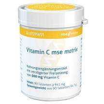 Produktbild Vitamin C Mse Matrix Tabletten