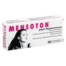 Produktbild Mensoton gegen Regelschmerzen Filmtabletten
