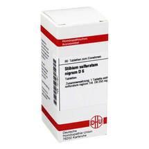 Produktbild Stibium sulfuratum nigrum D 6 Tabletten