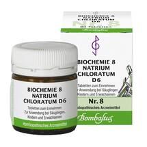 Biochemie 8 Natrium chloratum D 6 Tabletten