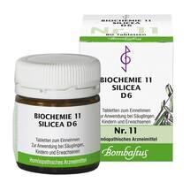 Biochemie 11 Silicea D 6 Tabletten