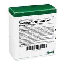 Produktbild Veratrum Homaccord Ampullen