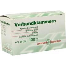 Produktbild Verbandklammern Lohmann hautfarben