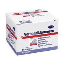 Produktbild Verbandklammern Hartmann hautfarben