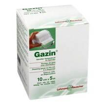Produktbild Gazin Verbandmull 10cmx5m 8fach