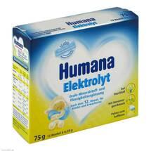 Produktbild Humana Elektrolyt Banane Pulver