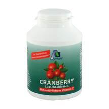 Produktbild Cranberry Lutschtabletten