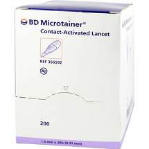 BD Microtainer Lanzette lila