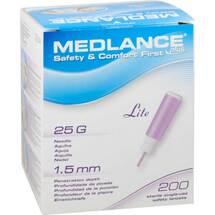 Produktbild Medlance Plus Lite Sicherheitslanzetten 25 G