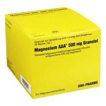 Produktbild Magnesium AAA 500 mg Granulat
