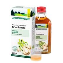 Produktbild Knoblauch Naturreiner Pflanzentrunk Schoenenberger